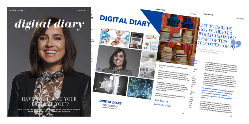 Announcing the Launch of the Digital Diary Magazine
