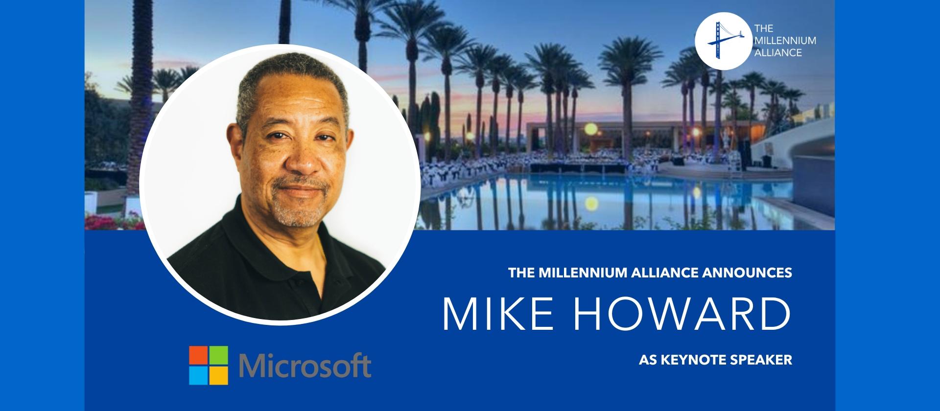 Mike Howard Keynote Speaker Annoucement Poster