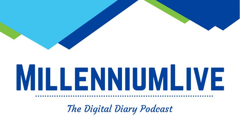 Millenium Live Podcast Logo