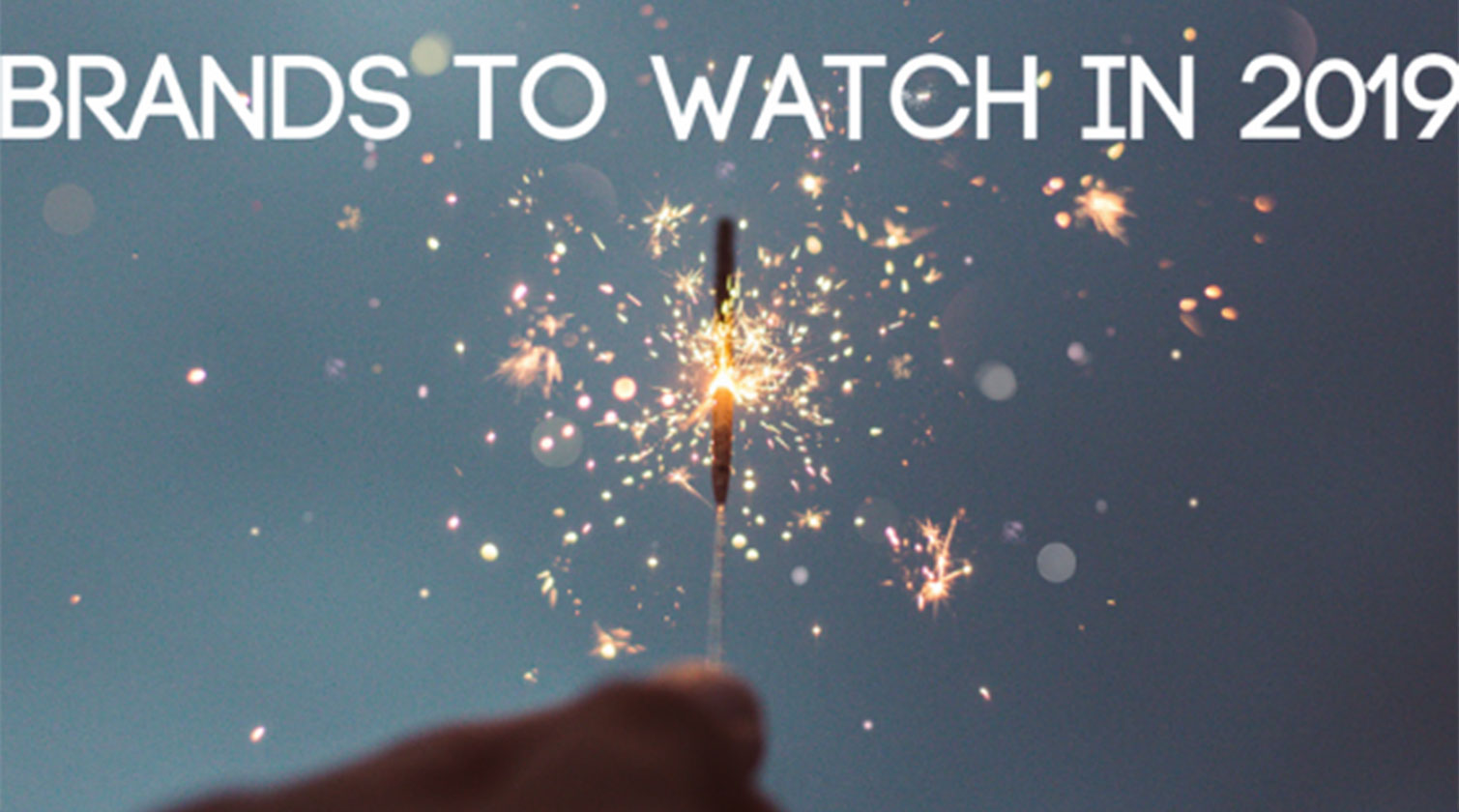 Brands to watch in 2019 with a firework
