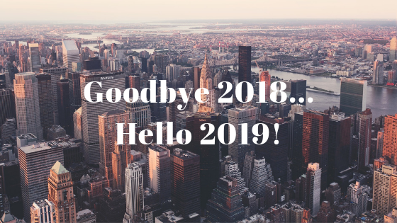 Goodbye 2018... Hello 2019! BANNER
