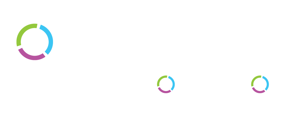 digital healthcare transformation white logo