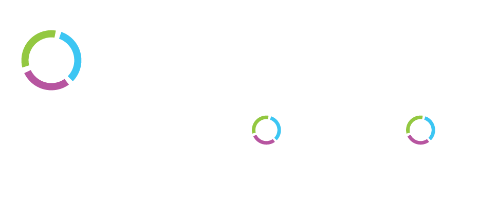 Digital Enterprise CIO Transformation Logo in White