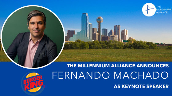 Fernando Machado as keynote speaker Announcement