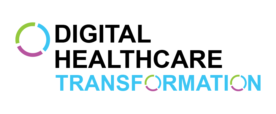 DIGITAL HEALTHCARE Transformation Logo