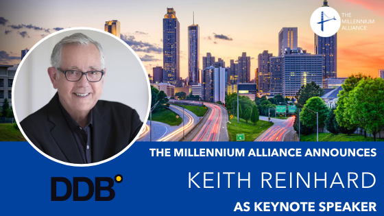 Keith Reinhard as Keynote Speaker Annoucement