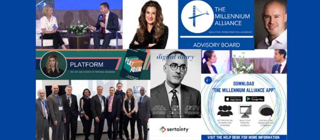 Millenium Alliance poster collage