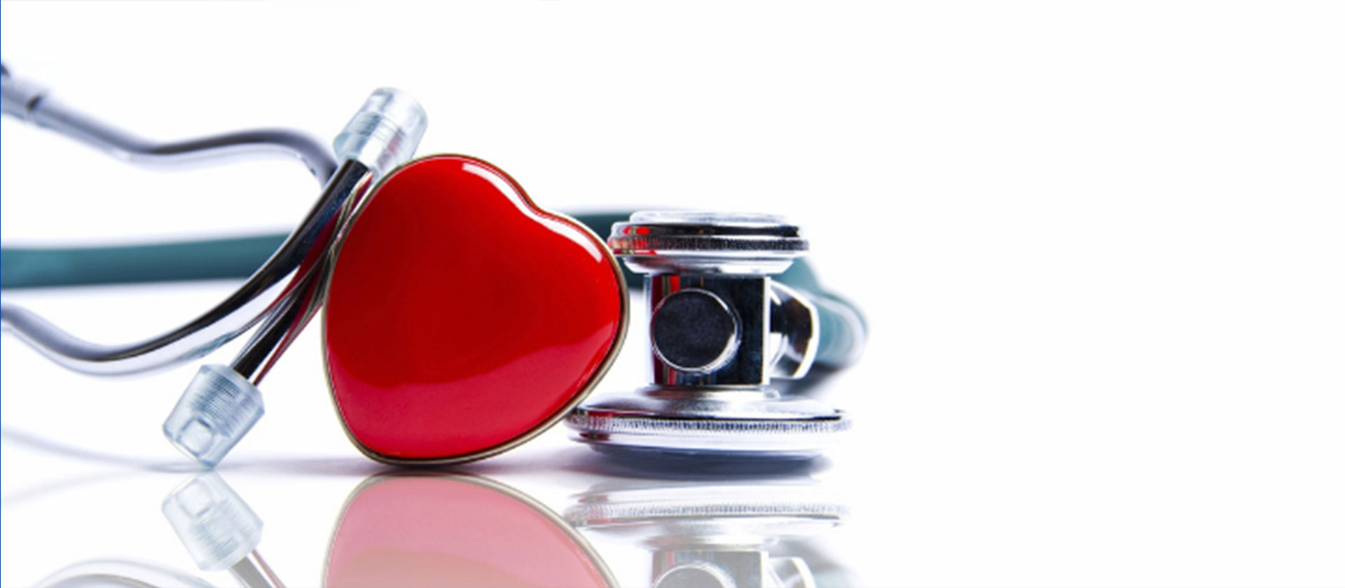 stethoscope with a heart