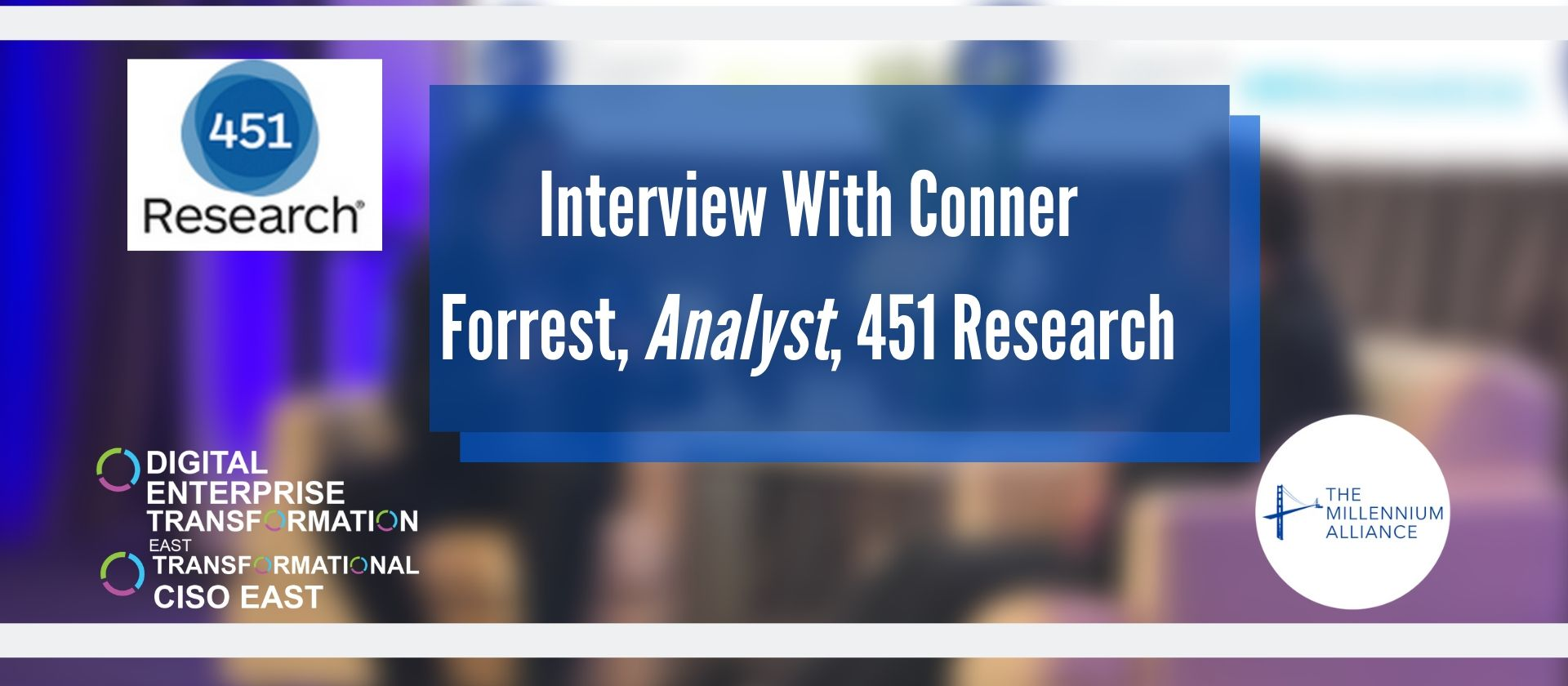 Conner Forrest Interview with the Millenium Alliance