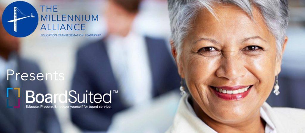 Board Suited Partnership Millenium Alliance Annoucement