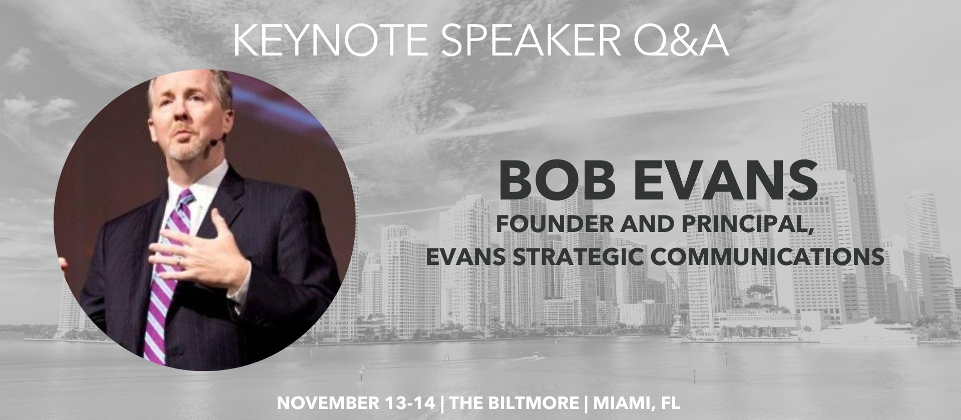 Bob Evans Keynote Speaker Q&A Millennium Alliance
