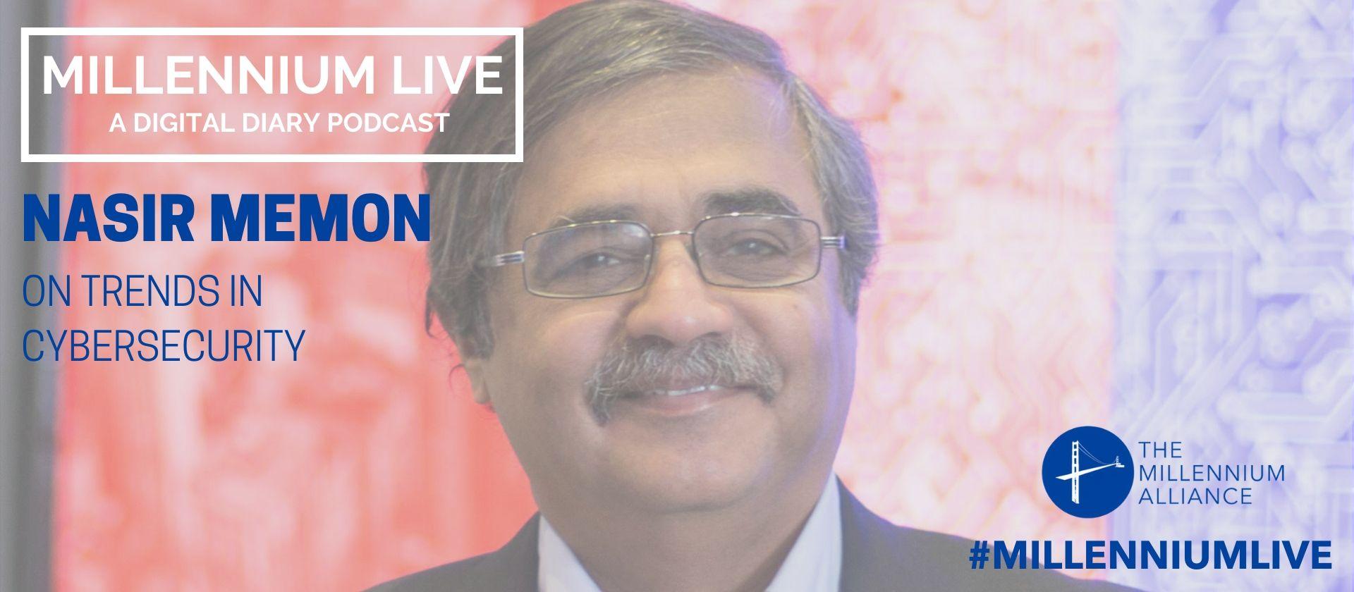 Nasir Memon Cybersecurity Podcast