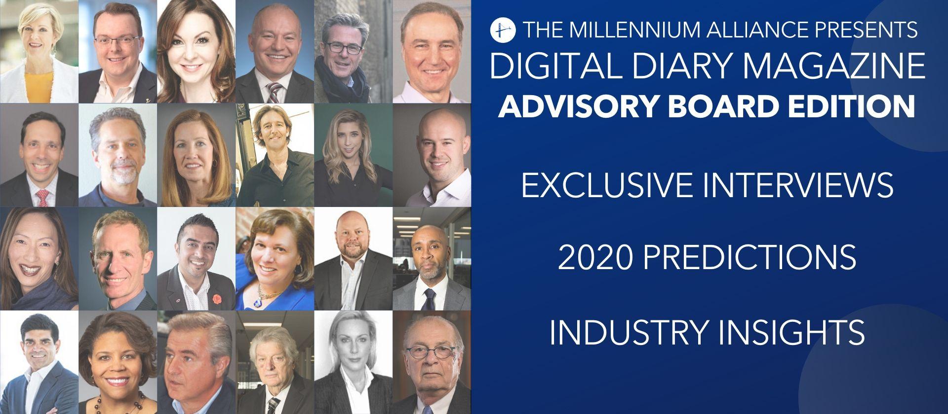 Digital Diary 2020 Advisory Board Edition Millennium Alliance