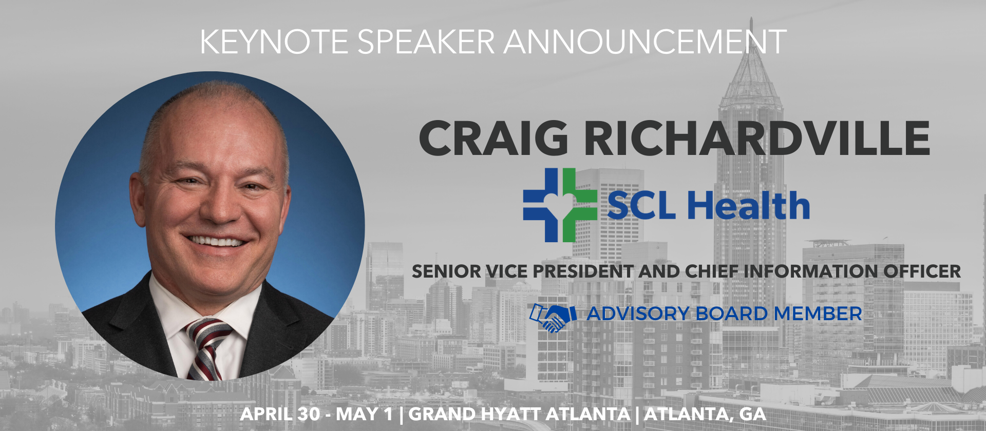 Craig Richardville SCL Health Advisory Board Keynote Speaker Millennium Alliance
