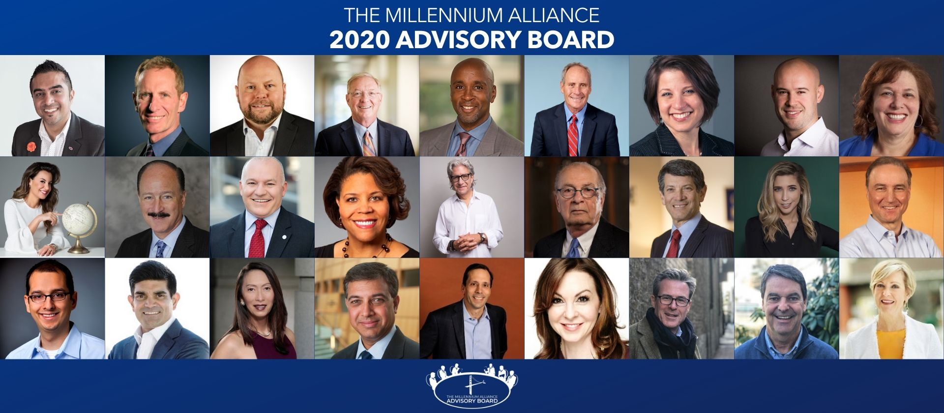 2020 Advisory Board Millennium Alliance Executives