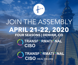 CISO and CISO Healthcare Assembly Denver Millennium Alliance April