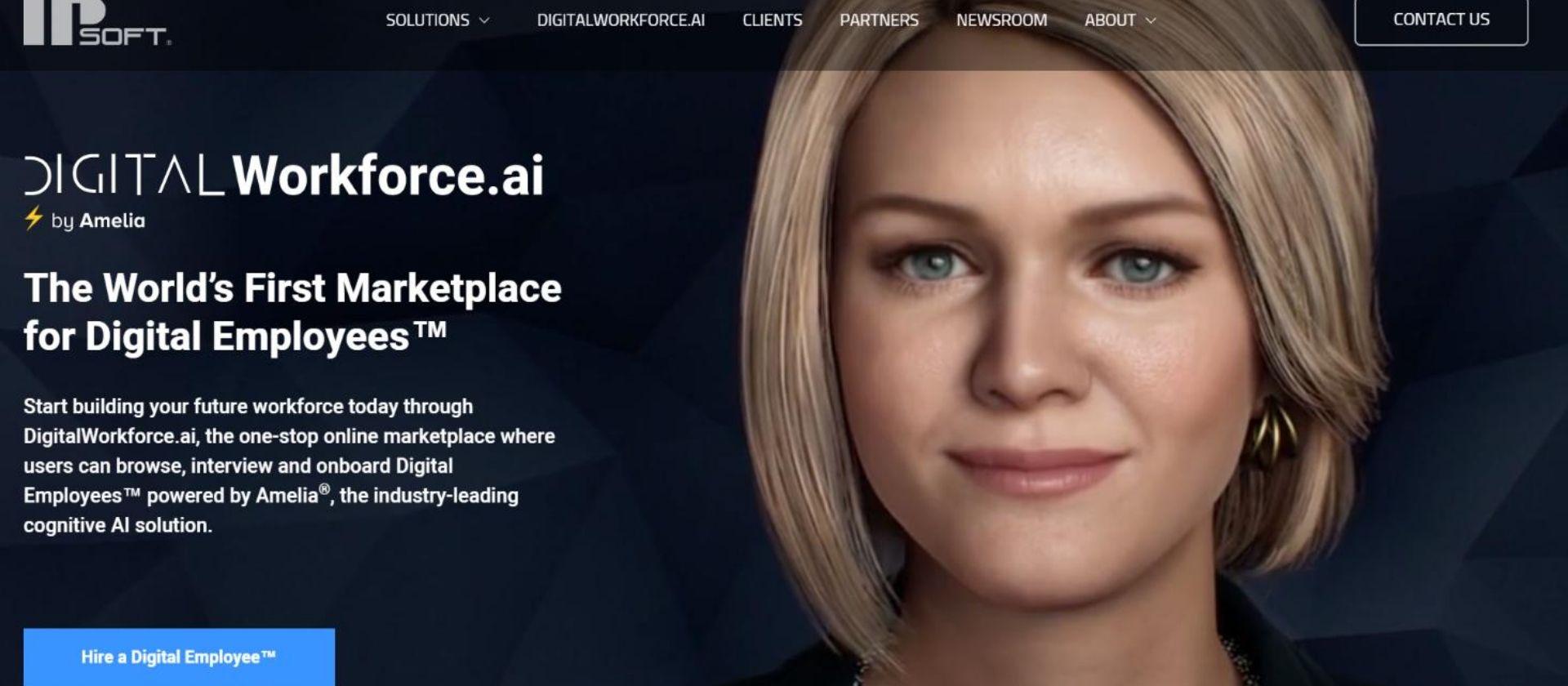 IPSoft artificial intelligence amelia digital employees