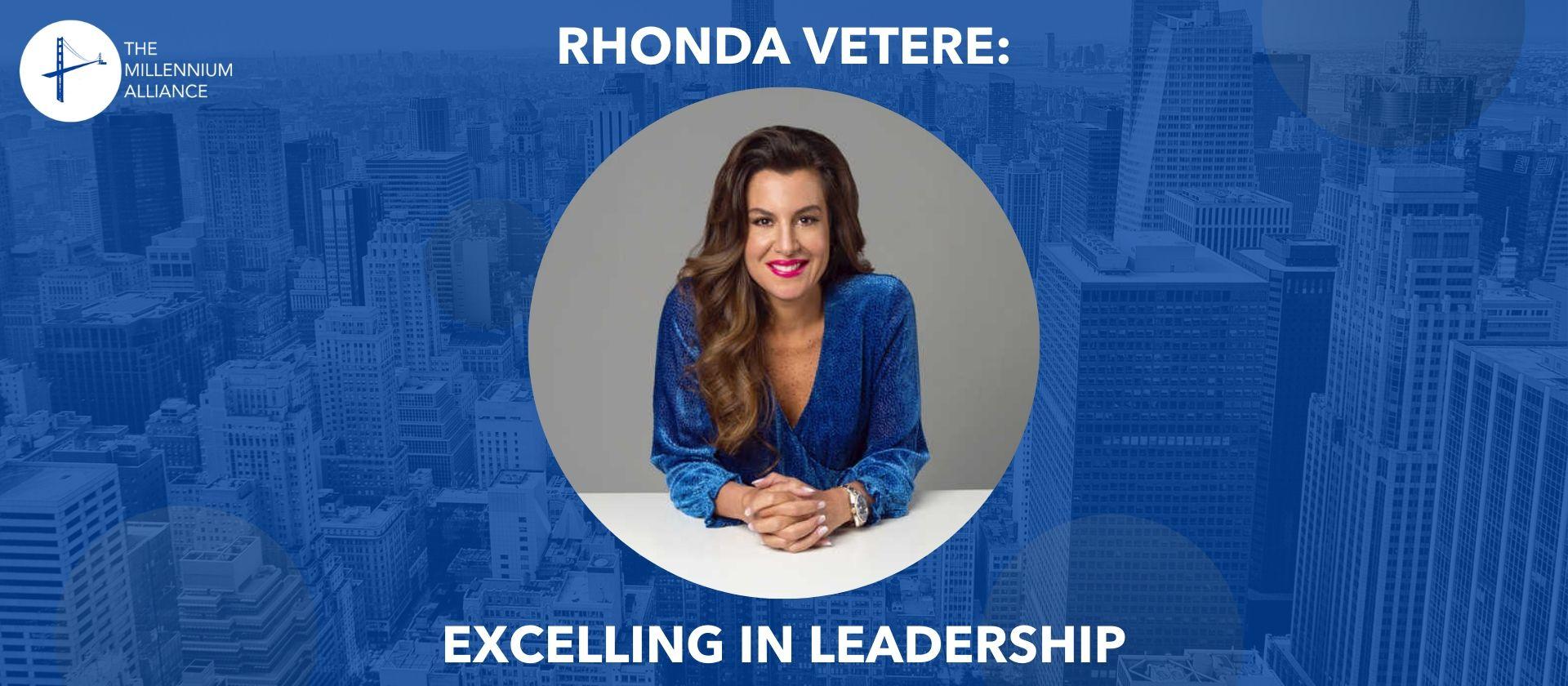 rhonda vetere leadership millennium alliance