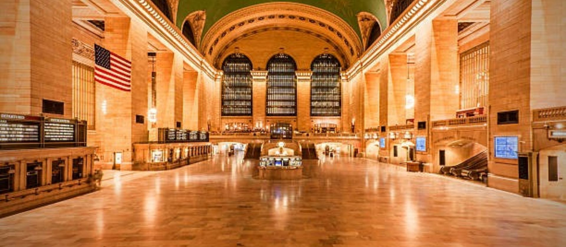 grand central terminal empty coronavirus new york