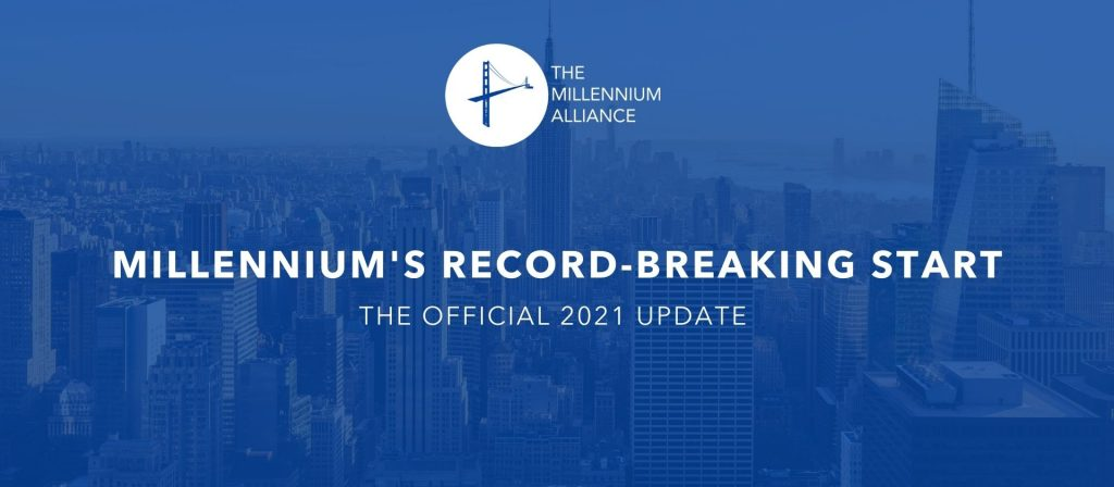 The Millennium Alliance Comes Out Of The Gate At A Record-Breaking Pace in 2021