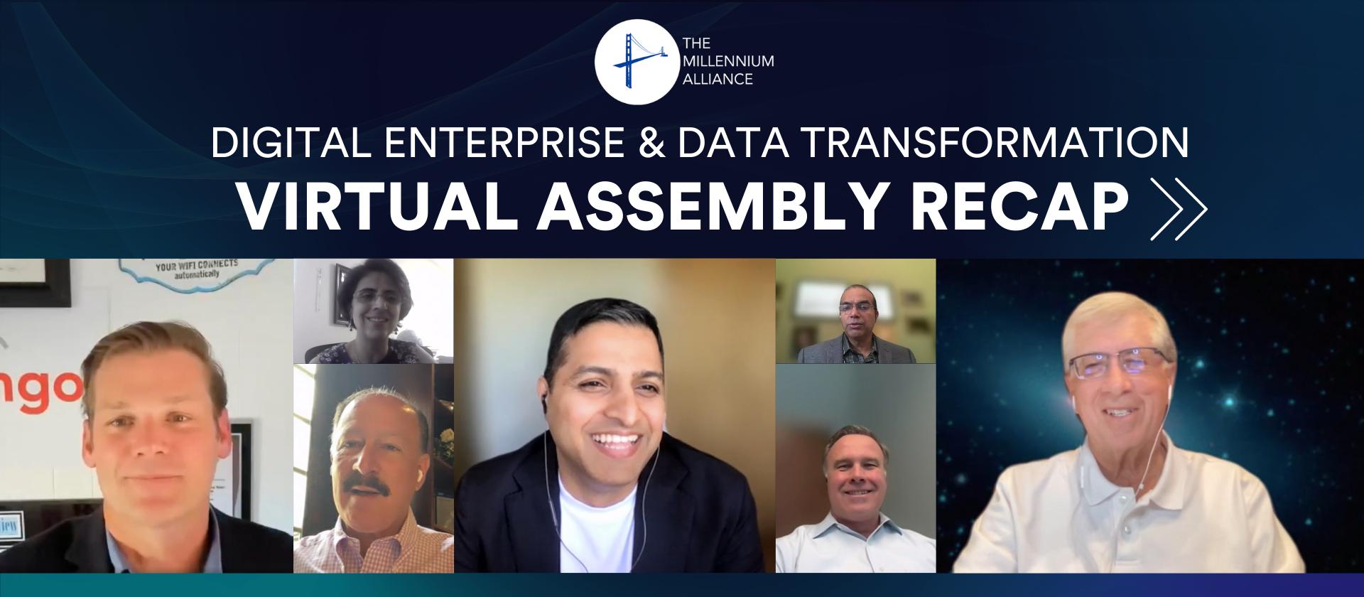 Missed the Digital Enterprise & Data Transformation Assembly? We've Got You Covered!